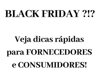 Cuidados para a Black Friday