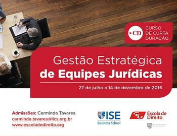 Strategic Management of Legal Teams at CEU/IICS Law School & ISE Business School!